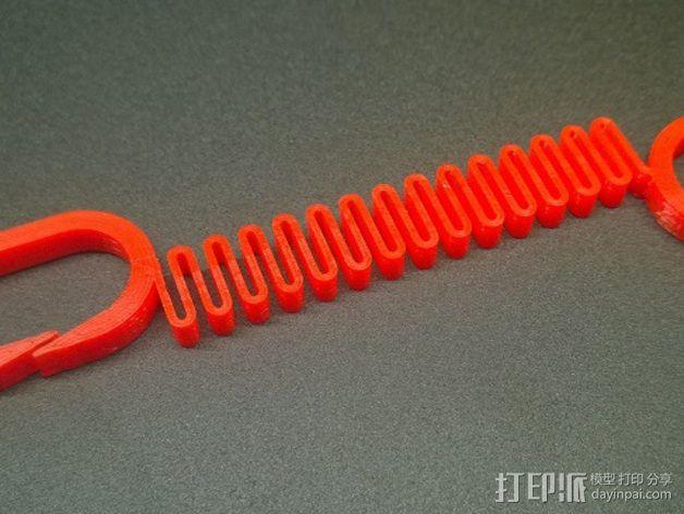 Printrbot 3D打印机线材扎带  3D模型  图10
