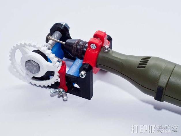 个性化hobbet螺栓 3D模型  图1