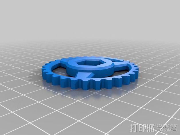 个性化hobbet螺栓 3D模型  图4