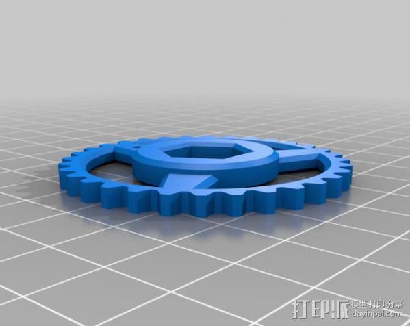 个性化hobbet螺栓 3D模型  图6