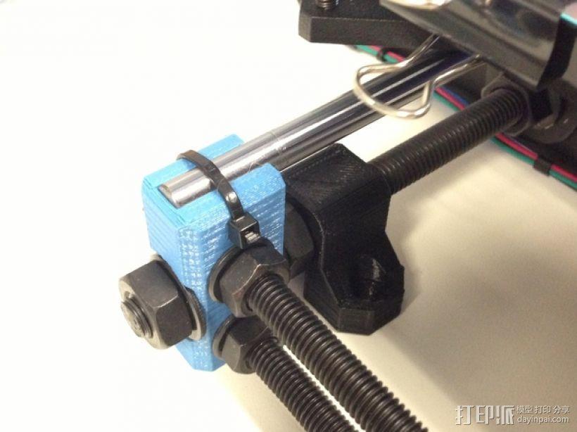 Prusa i3 Hephestos 3D打印机扣件 3D模型  图1