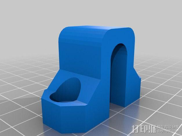 Prusa i3 Hephestos 3D打印机扣件 3D模型  图2