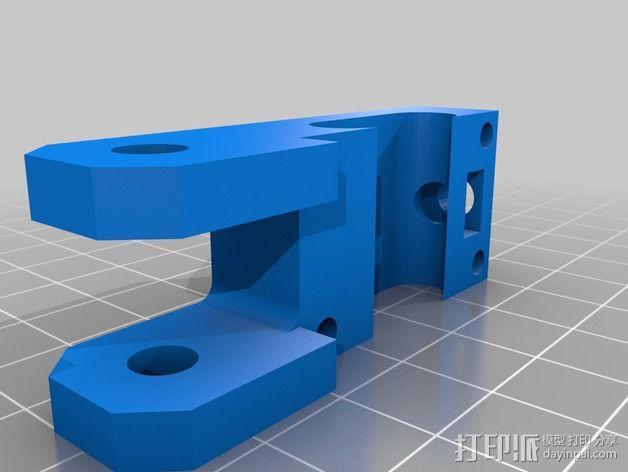 Y轴传送带拉伸装置 3D模型  图2