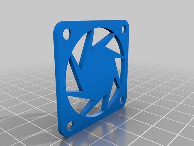 CraftBot 3D打印机风扇外壳 3D模型  图2