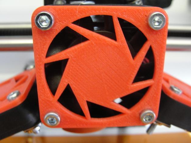 CraftBot 3D打印机风扇外壳 3D模型  图3