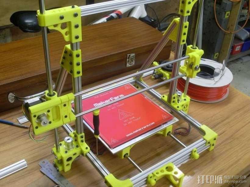 OB1.4 3D打印机 3D模型  图1