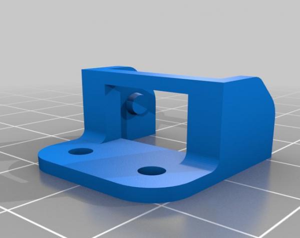 打印机电线保护链 3D模型  图3