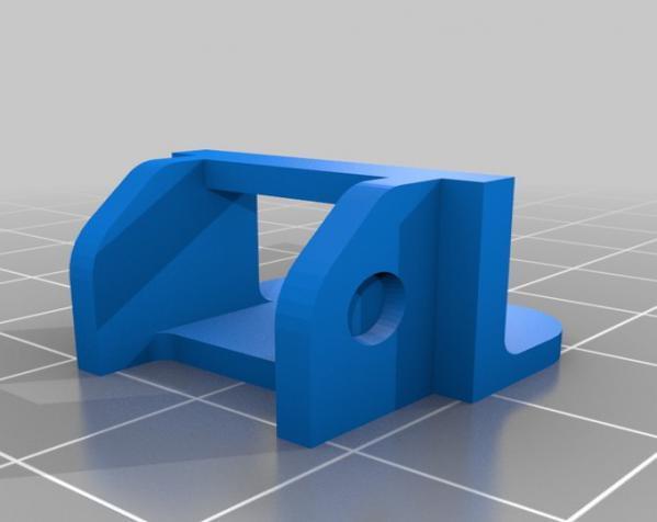 打印机电线保护链 3D模型  图2
