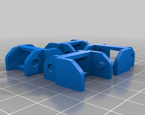 打印机电线保护链 3D模型  图5