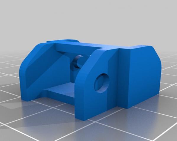 打印机电线保护链 3D模型  图6