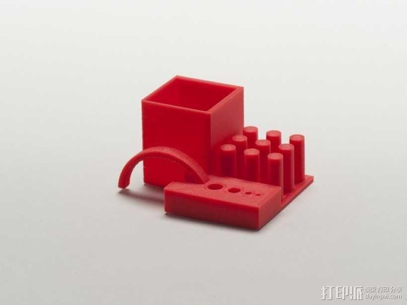 打印机稳定性测试样品 3D模型  图2