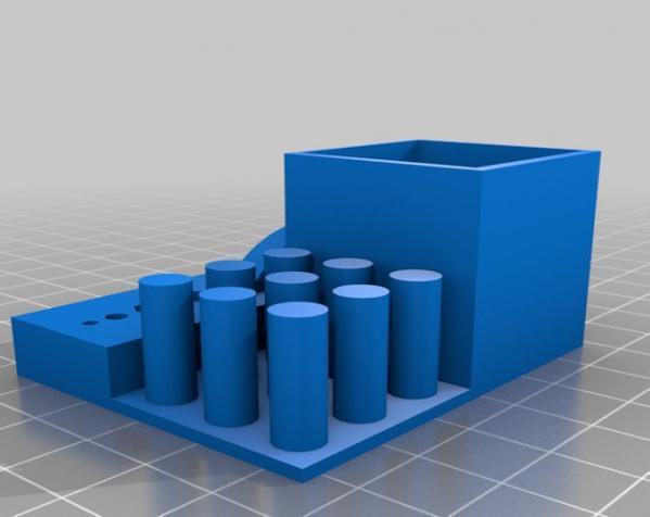 打印机稳定性测试样品 3D模型  图1