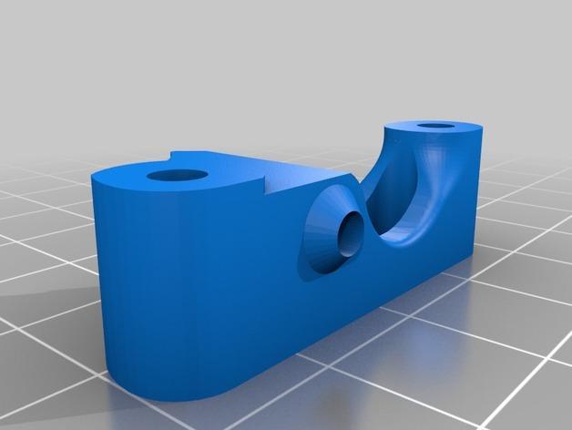 简易双挤出机 3D模型  图4