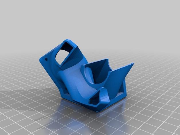 简易双挤出机 3D模型  图5