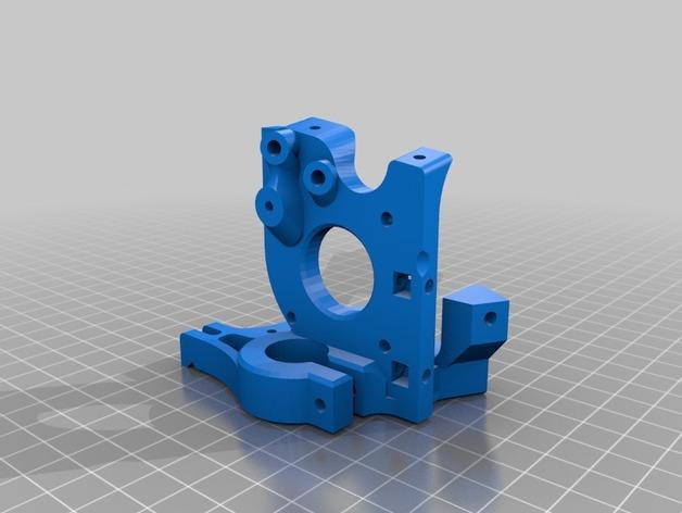 简易双挤出机 3D模型  图6