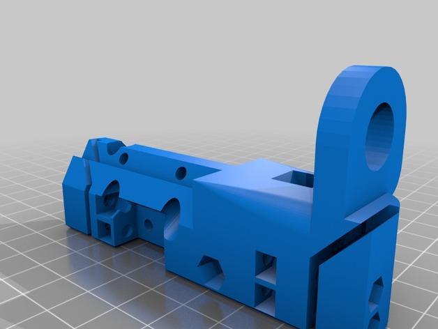 简易双挤出机 3D模型  图7