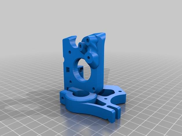 简易双挤出机 3D模型  图8