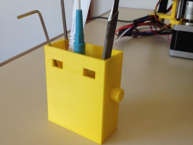 Prusa i3 Hephestos 3D打印机工具盒 3D模型  图8