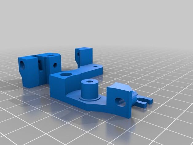 Smartrap MC3 3D打印机 3D模型  图4