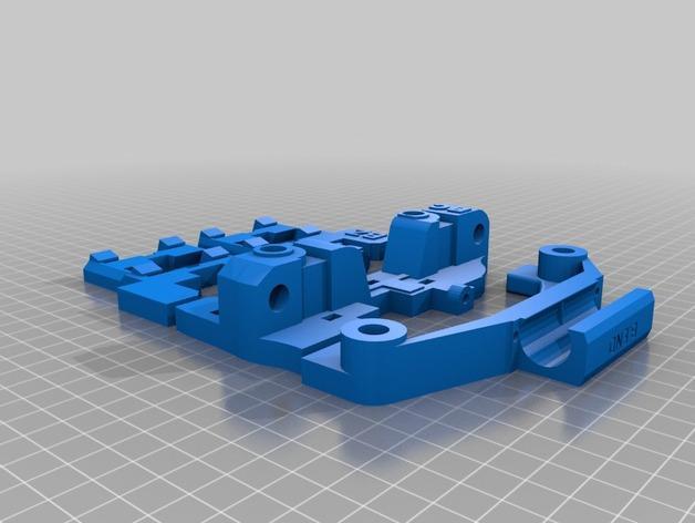 Smartrap MC3 3D打印机 3D模型  图10