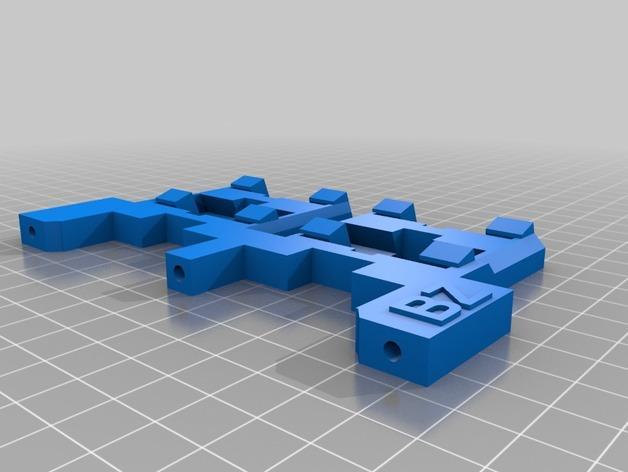 Smartrap MC3 3D打印机 3D模型  图14