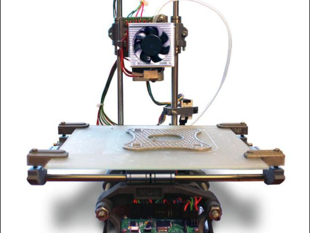 Smartrap MC3 3D打印机 3D模型  图25