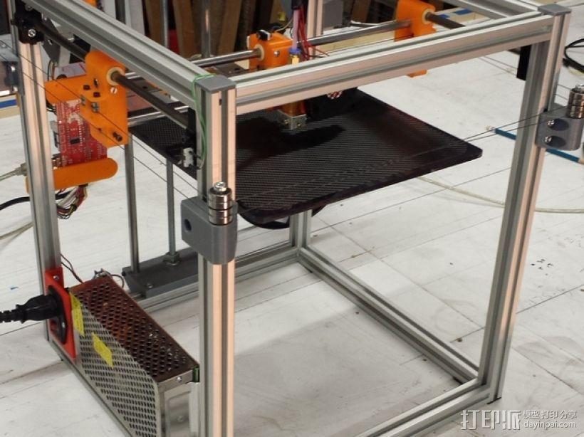 PrntQB V2 3D打印机 3D模型  图1