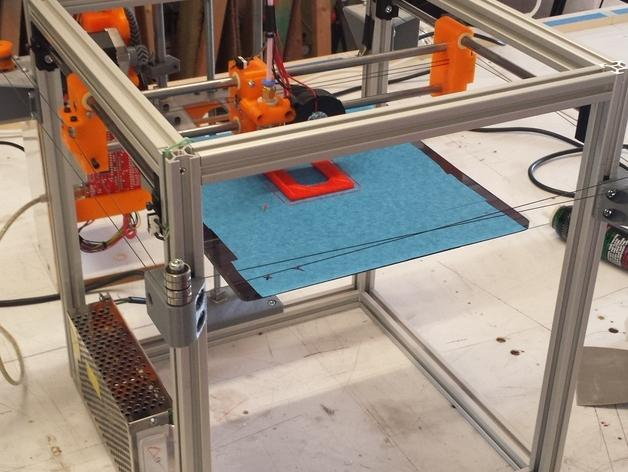PrntQB V2 3D打印机 3D模型  图4
