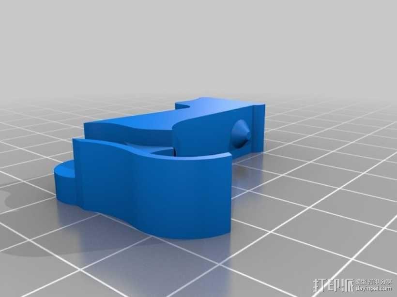 Mk8弹簧加压挤出机驱动装置 3D模型  图5