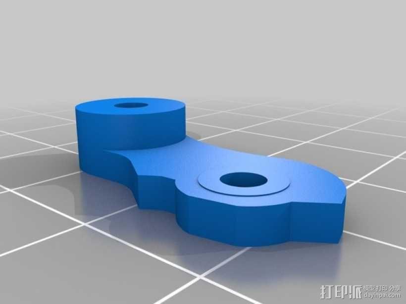 Mk8弹簧加压挤出机驱动装置 3D模型  图6