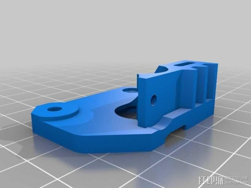 Mk8弹簧加压挤出机驱动装置 3D模型  图9