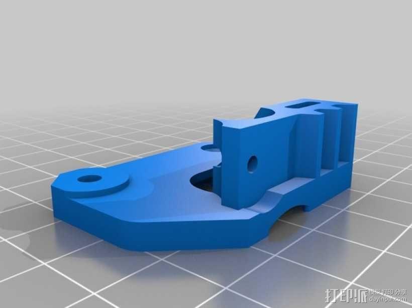 Mk8弹簧加压挤出机驱动装置 3D模型  图10
