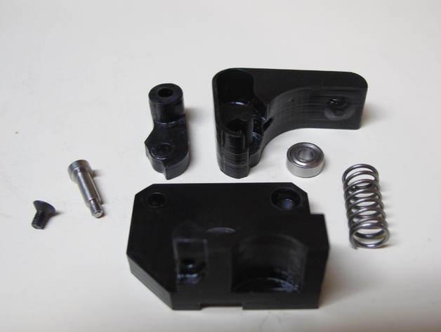 Replicator 2X 3D打印机挤出机驱动装置 3D模型  图3