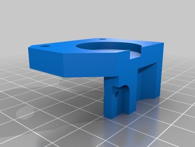 Replicator 2X 3D打印机挤出机驱动装置 3D模型  图9