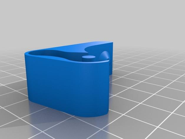 Replicator 2X 3D打印机挤出机驱动装置 3D模型  图8