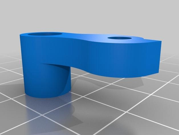 Replicator 2X 3D打印机挤出机驱动装置 3D模型  图11