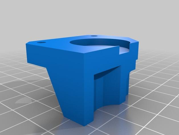 Replicator 2X 3D打印机挤出机驱动装置 3D模型  图10