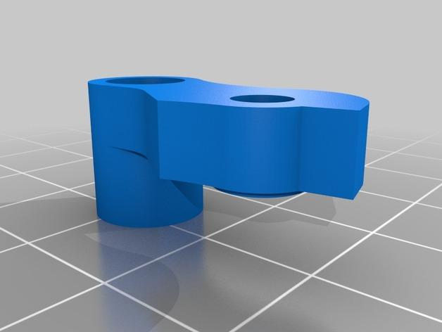 Replicator 2X 3D打印机挤出机驱动装置 3D模型  图12