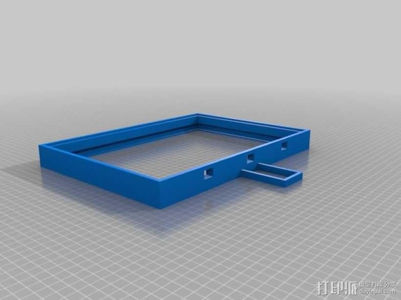 真空吸附台 3D模型  图3