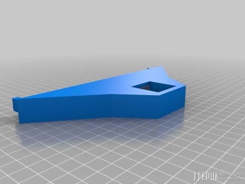 真空吸附台 3D模型  图4