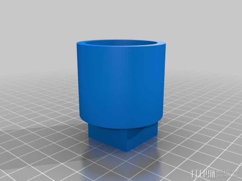 真空吸附台 3D模型  图5