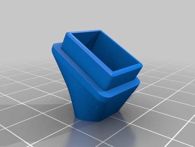 RigidBot冷却风扇底座 3D模型  图2