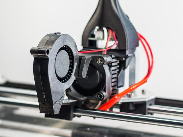 RigidBot冷却风扇底座 3D模型  图4