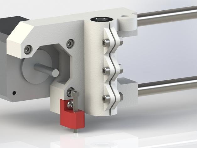 Prusa i3 3D打印机XZ轴 3D模型  图1