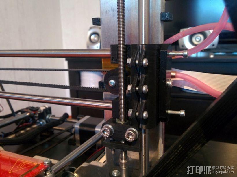 Prusa i3 3D打印机XZ轴 3D模型  图2