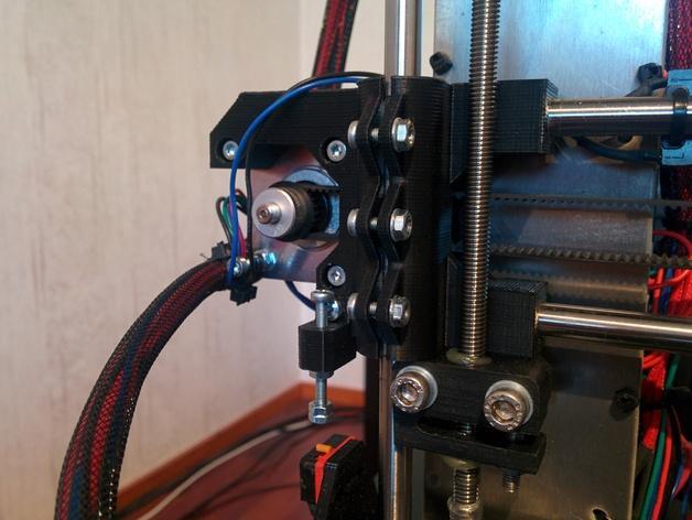 Prusa i3 3D打印机XZ轴 3D模型  图3