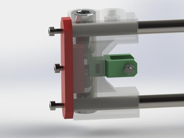 Prusa i3 3D打印机XZ轴 3D模型  图5