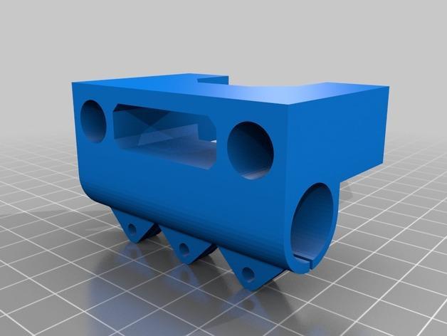 Prusa i3 3D打印机XZ轴 3D模型  图6