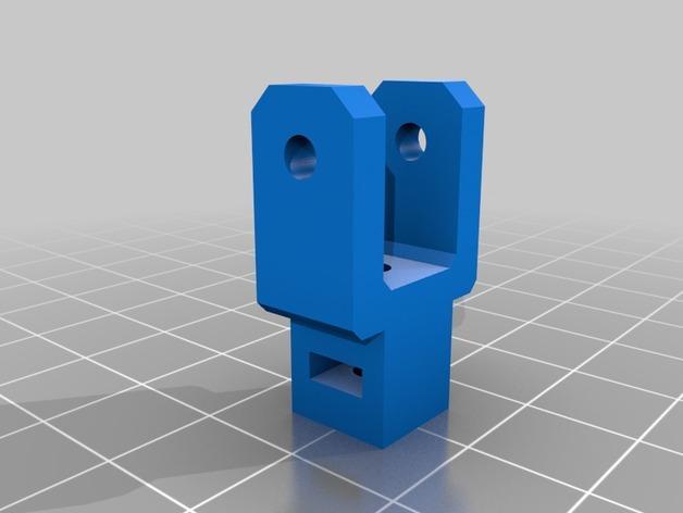 Prusa i3 3D打印机XZ轴 3D模型  图8