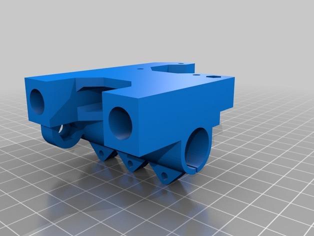Prusa i3 3D打印机XZ轴 3D模型  图7